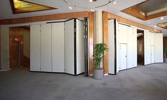Folding Partitions & Commercial Doors Folding Partitions | Greensburg PA | Overhead Door ...